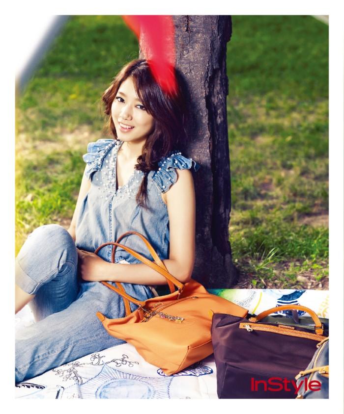 Park Shin Hye Instyle Magazine Park Shin Hye Photo 24166082 Fanpop