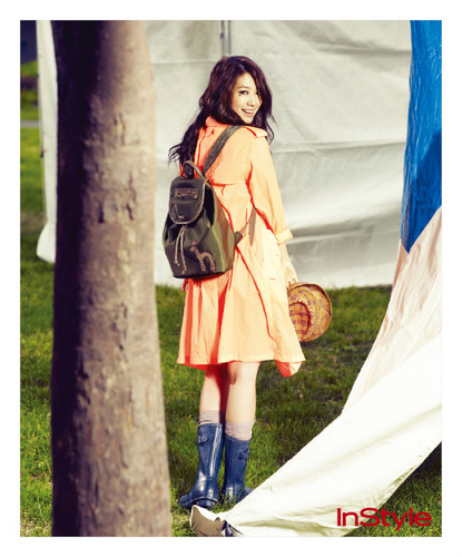 Park Shin Hye  InStyle Magazine - park-shin-hye Photo