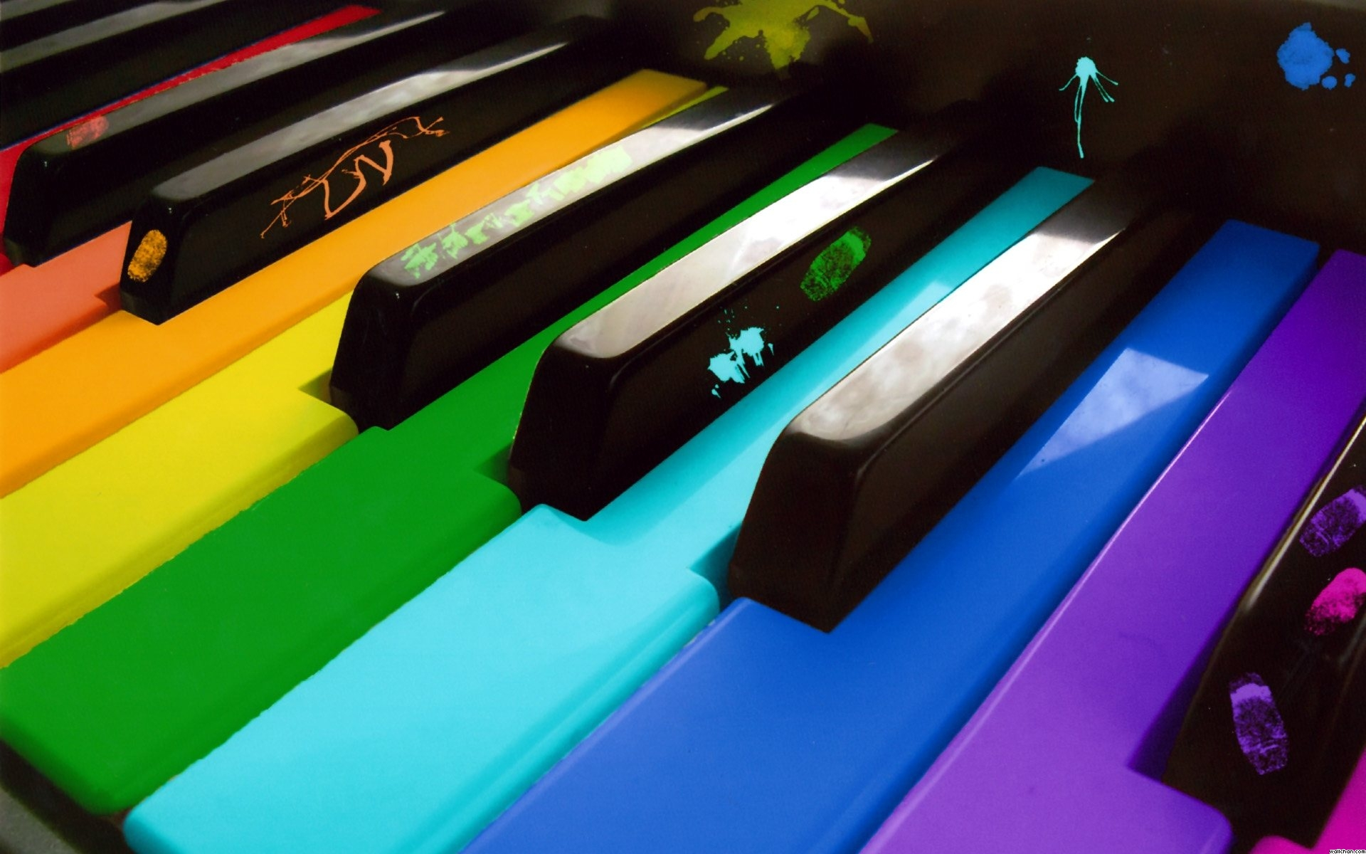 Music piano wallpaper