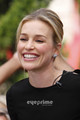 Piper Perabo on the Extra show at The Grove in Hollywood. July 28.