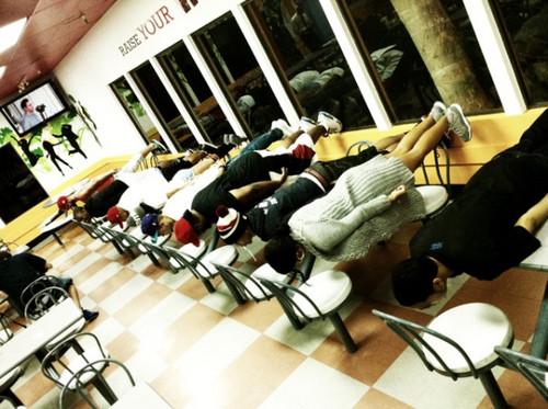 Planking LOL!