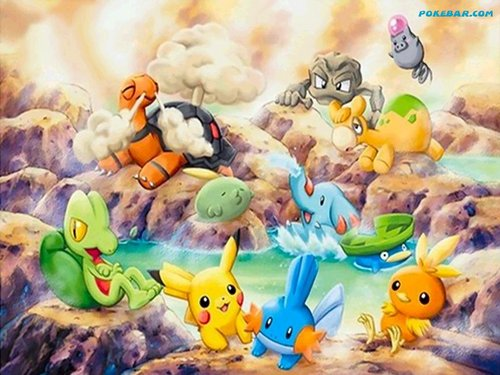 Pokémon wallpaper called Pokemon