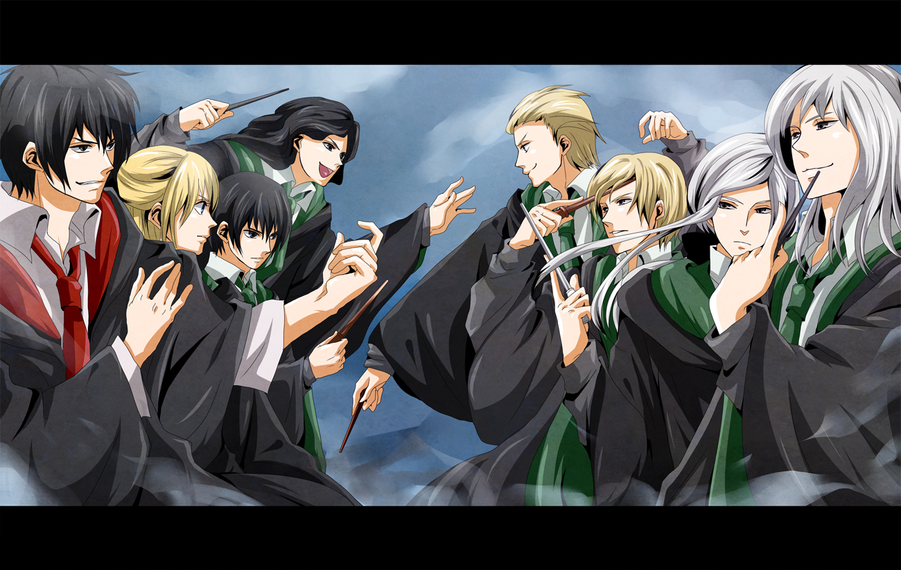 Harry Potter Lucius Malfoy Anime