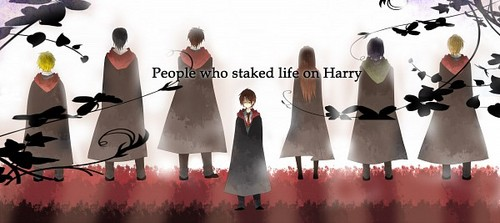 anime harry potter wallpaper called Potter anime