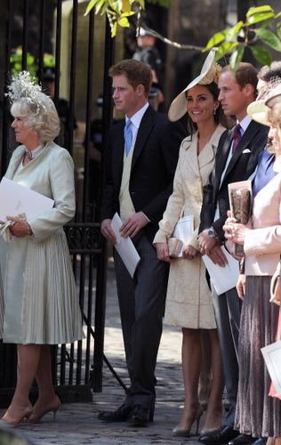 Prince William & Catherine at Zara Phillips' Wedding