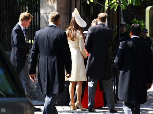 Prince William & Catherine at Zara and Mike's Wedding