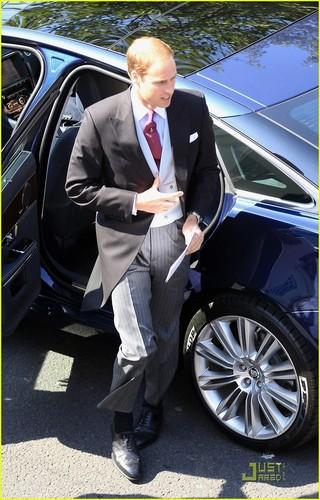 Prince William & Kate Attend Zara Phillips' Wedding