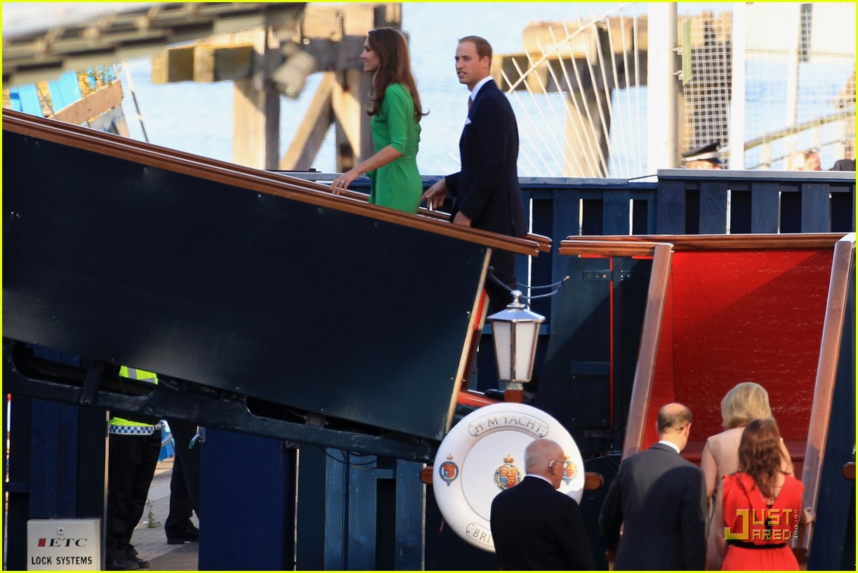Prince William & Kate: Yacht Party for Zara Phillips' Wedding