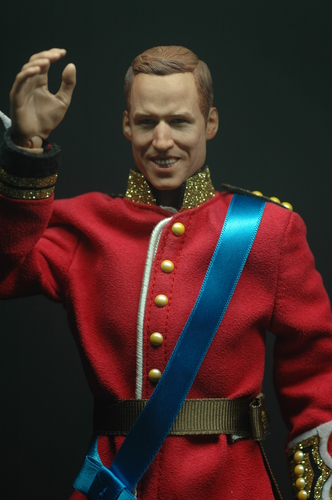 Kings and Queens wallpaper containing regimentals and a full dress uniform titled Prince william custom figure