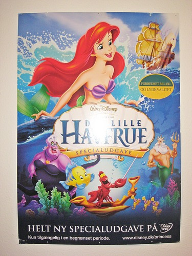 PrueFever's Disney trang chủ - The Little Mermaid Hardboard Poster