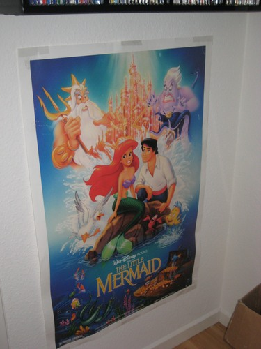 PrueFever's Disney accueil - The Little Mermaid Poster