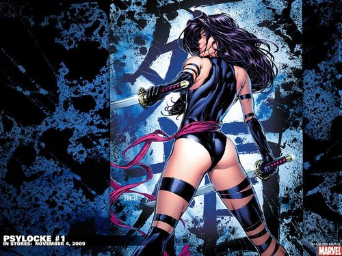 Psylocke Wallpaper Possibly With A Hip Boot Titled