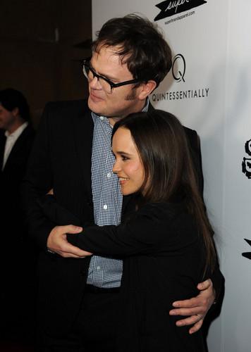 Rainn and Ellen Page