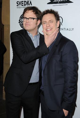 Rainn and James Gunn
