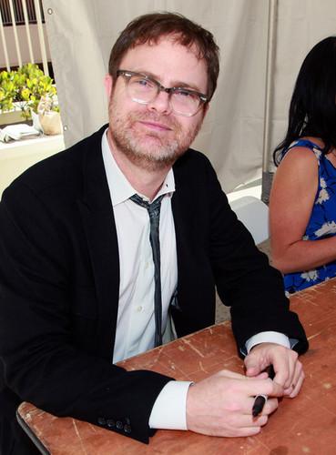 Rainn at book signing