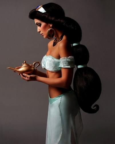 Real Life 迪士尼 Princesses - 茉莉, 茉莉花