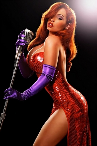 Real Life Disney Princesses - Jessica Rabbit