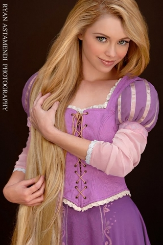 Real Life Disney Princesses - Tangled