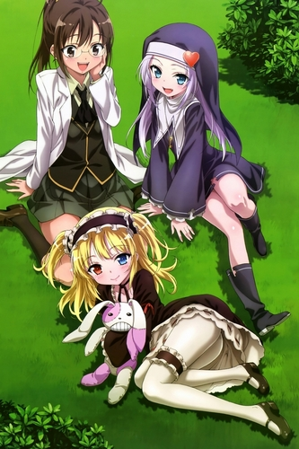 Rika, maria and kabato