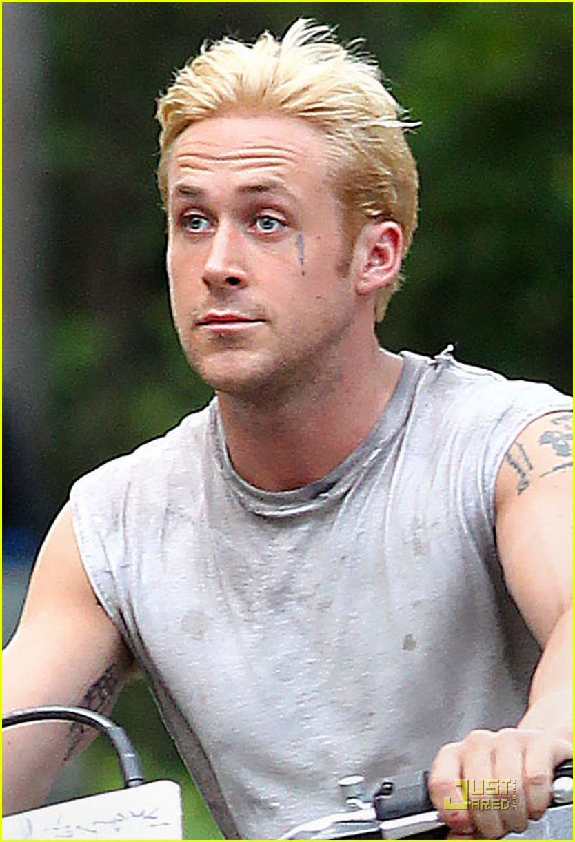 Thinking Of Dyeing My Hair Blonde Like Ryan Gosling In Place Beyond