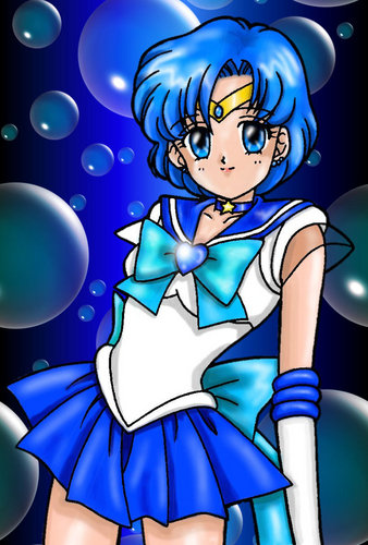 Sailor Mercury / MercuriusNeko