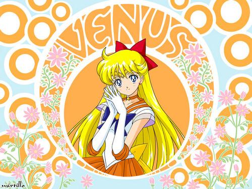 Sailor Venus Bubble Letters
