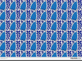 Seamless pattern - blue wallpaper