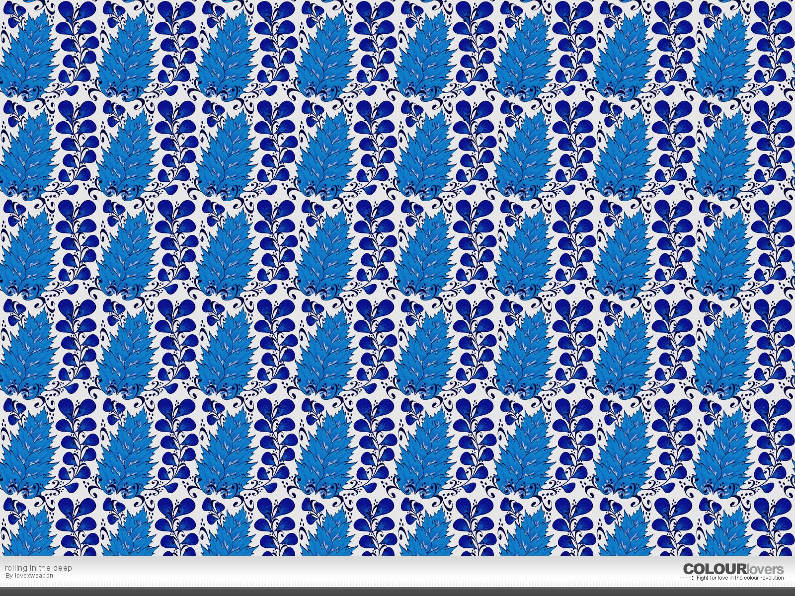 Seamless pattern - Blue Wallpaper (24116910) - Fanpop
