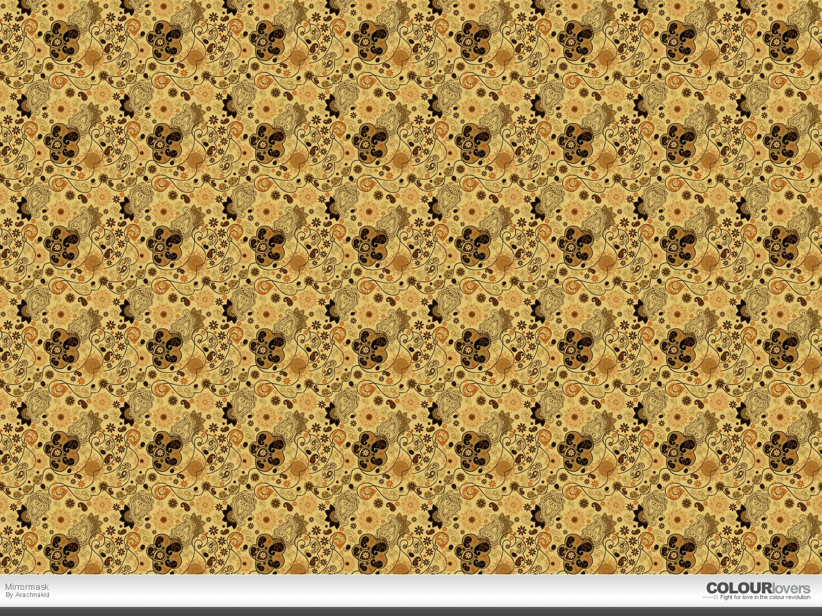 brown pattern wallpaper - photo #10
