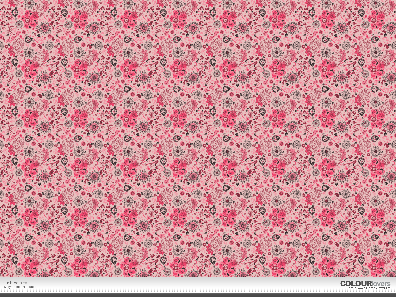 Pretty Pink Patterns Background