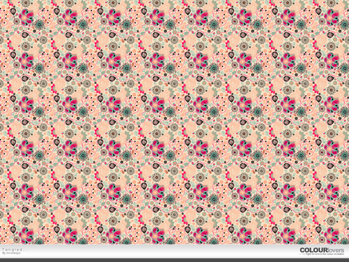 Pink (Color) wallpaper entitled Seamless pattern