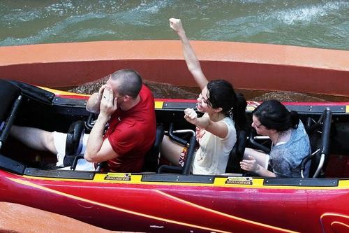 Selena - At Universal Studios In Orlando, Florida - July 29, 2011