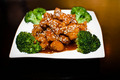 Sesame Chicken - chinese-food photo