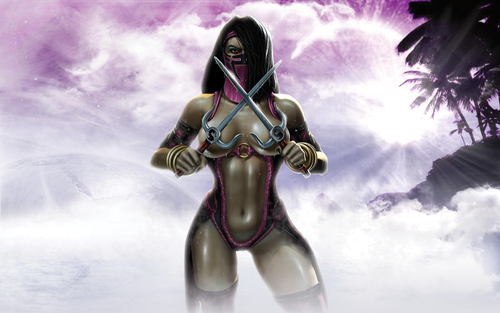 Mortal Kombat wallpaper called Sexy Mileena wallpaper