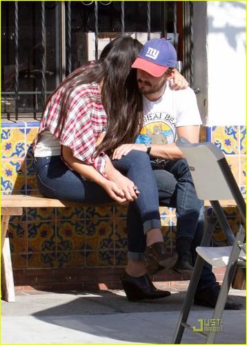 Shia & Karolyn out in LA