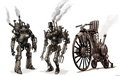 Steampunk Robots - steampunk photo