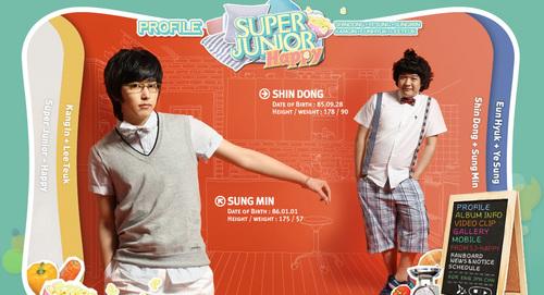 Sungmin and Shindong
