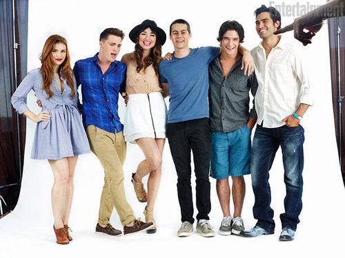 Teen lobo - Cast♥