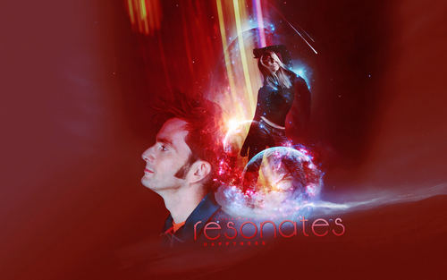 The Tenth Doctor wallpaper titled Ten/Rose