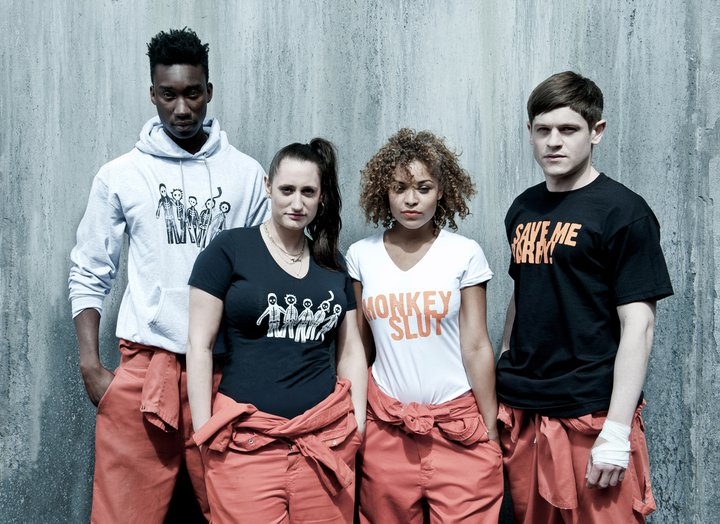 The Cast (with Misfits T-Shirts)