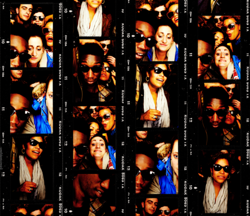 The Cast in a تصویر Booth