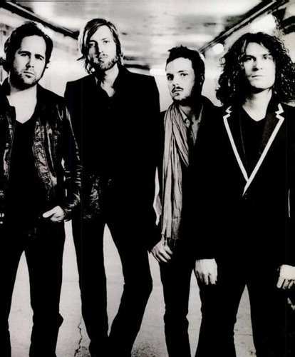 The Killers black and white