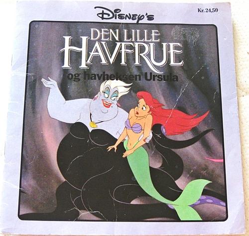 Walt डिज़्नी पुस्तकें - The Little Mermaid