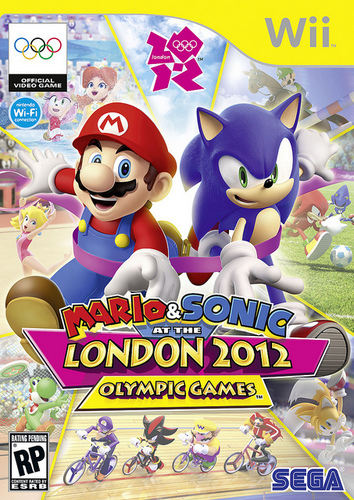 The Mario & Sonic at the लंडन 2012 Olympic Games Cover