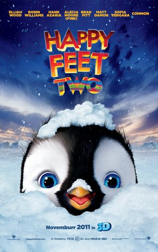 The Second Happy Feet 2 Poster