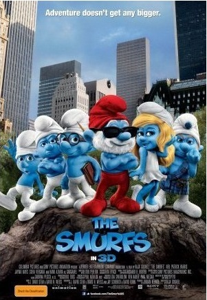 The Smurfs Movie Poster