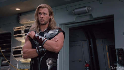 Thor from the Avengers movie