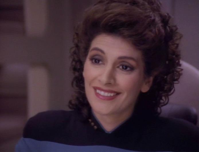 Marina sirtis counselor deanna troi star trek