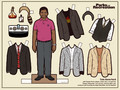 Tom Haverford paper doll - parks-and-recreation fan art
