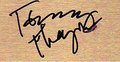 Tommy Thayer Autograph ^_^ ♥
